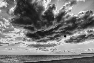 Foreboding Clouds by Den Heffernon