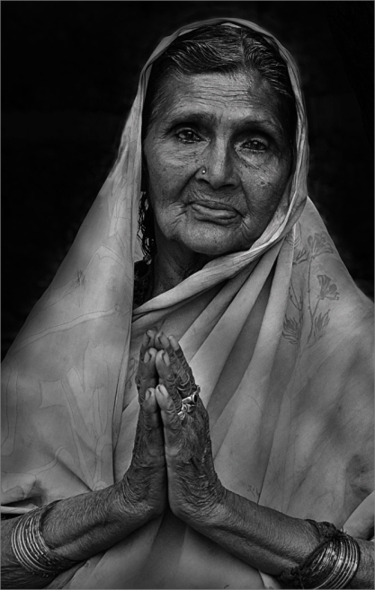 Indian Lady by Margaret Stredwick