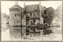 Scotney Castle by Margaret Stredwick