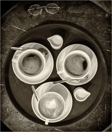 Taste the Coffee, See the Coffee by Dave Harris LRPS