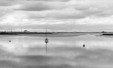The Swale at Conyer by Stephen Gates ARPS