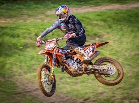 Motocross Jumper by Jim Berkshire