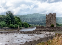 Ruin on the River by Susan Grimes